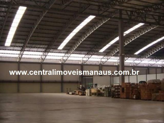 GALPÃO-ALUGUEL-MANAUS - AM